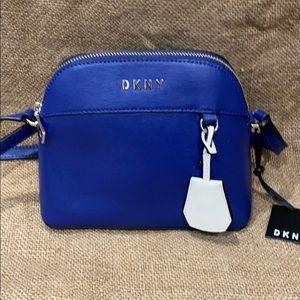 Blue DKNY Mini Crossbody Bag BRAND NEW